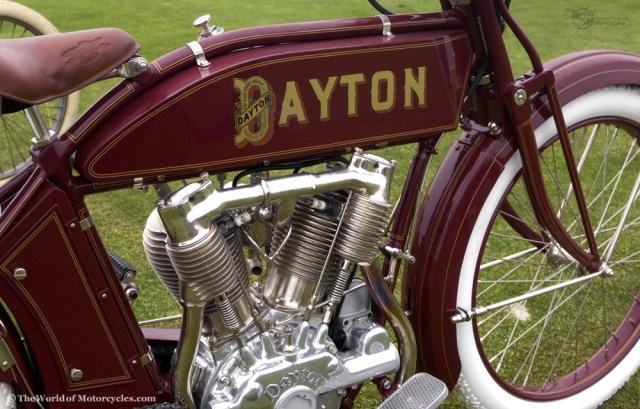 Sepeda motor Dayton 1914 v-twin motorcycle