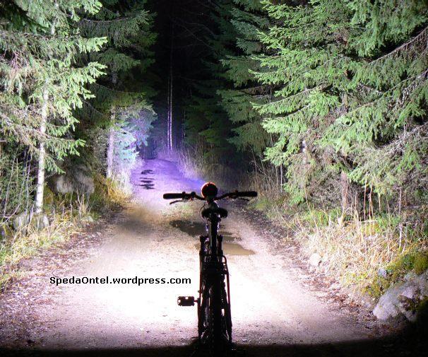 Modifikasi lampu depan sepeda onthel, dengan lampu LED Luxeon (#2)