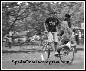 Onthel Freestyle - photo courtesy by Pebrusani Yusuf
