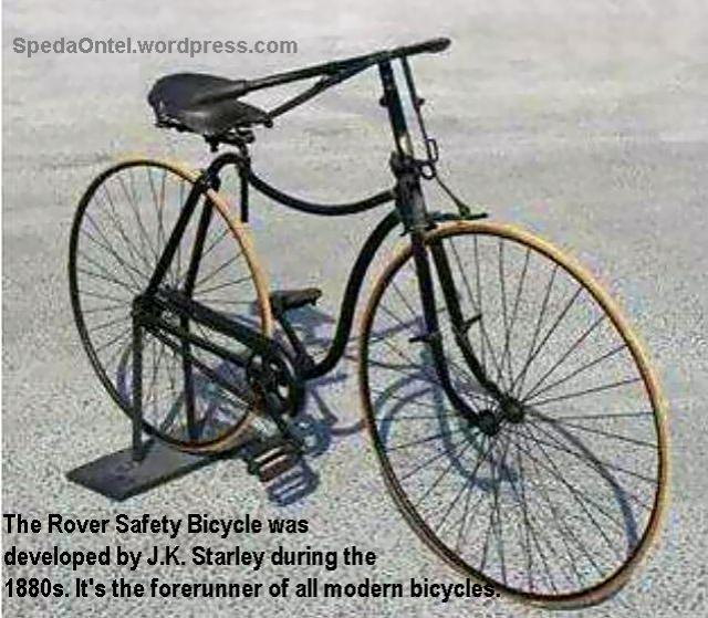 1880s - The Rover Safety Bicycle