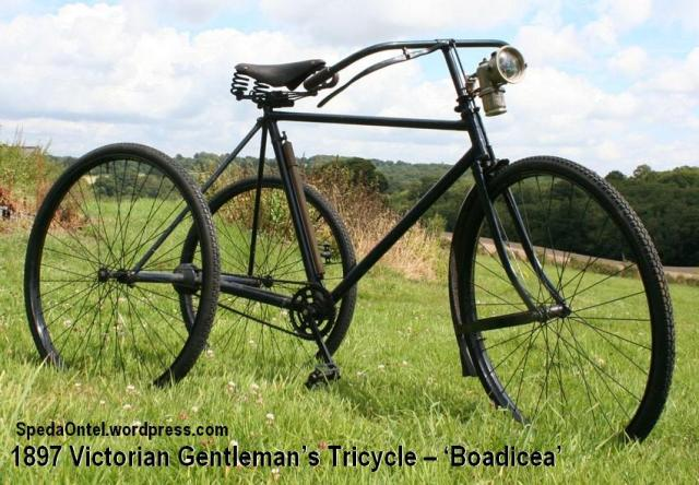 1897 Victorian Gentleman's Tricycle – 'Boadicea'