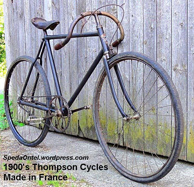 1900's Thompson Cycles - Made in France