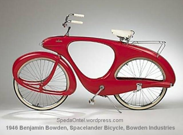Benjamin Bowden, Spacelander Bicycle for Bowden Industries, 1946