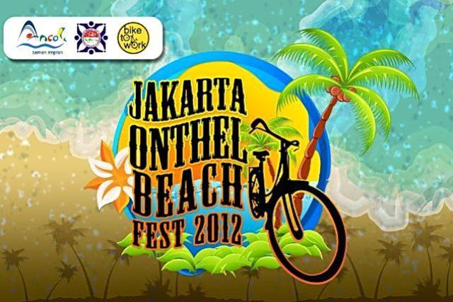 Jakarta ancol onthel beach fest