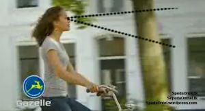 Stang tinggi pada sepeda onthel membuat sudut pandangan tetap lebar, nyaman dan lurus kedepan, leher tak perlu menunduk atau mendongak keatas