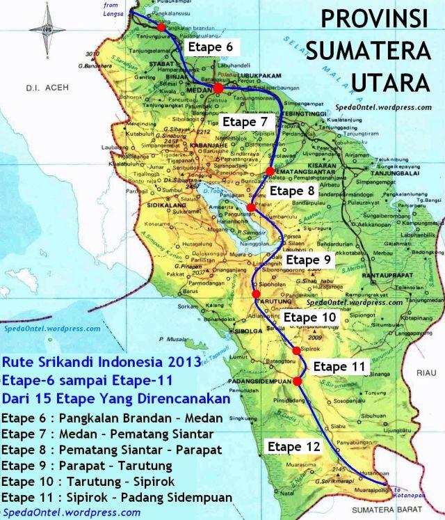 rute srikandi indonesia dowes aceh - padang 2013 - 02