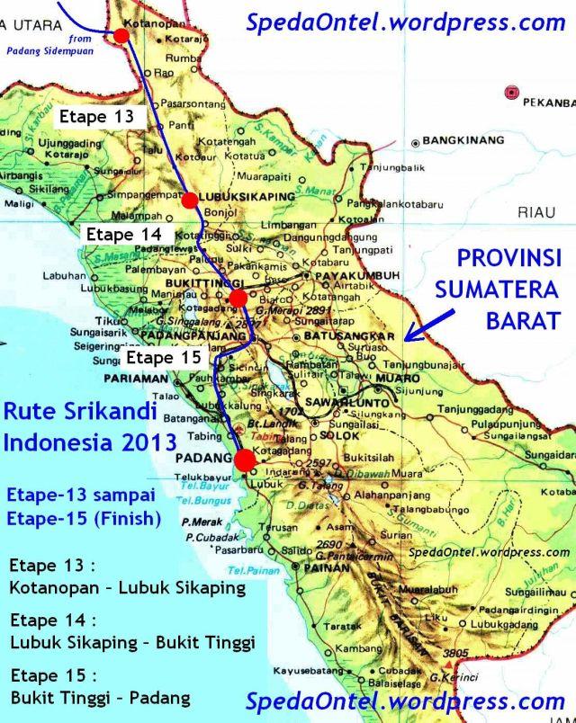 rute srikandi indonesia dowes aceh - padang 2013 - 03