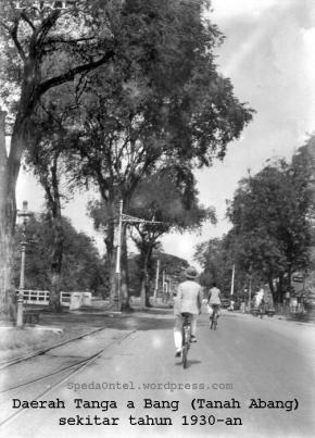 Jakarta jadul - Tanah abang 1930-an
