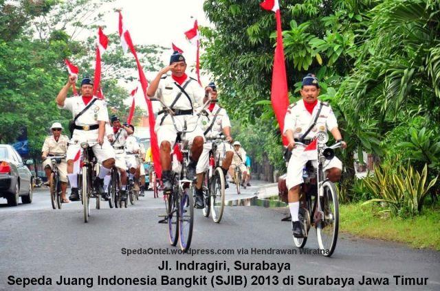 Sepeda Juang Indonesia Bangkit SJIB 2013 - 01