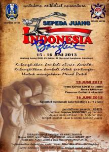 Sepeda Juang Indonesia Bangkit SJIB logo 2013