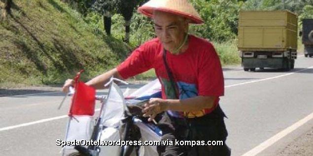 sepeda onthel naik haji