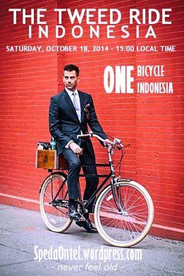 tweed ride Jakarta 2014 poster2