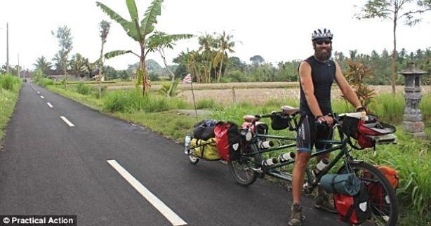 sepeda tandem new zealand Inggris 2