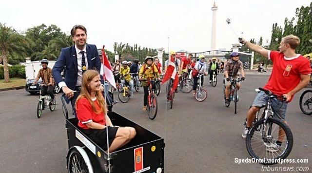 Dubes Denmark Sasper Klynge Ajak Masyarakat Indonesia Gemar Bersepeda 2