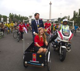 Dubes Denmark Sasper Klynge Ajak Masyarakat Indonesia Gemar Bersepeda