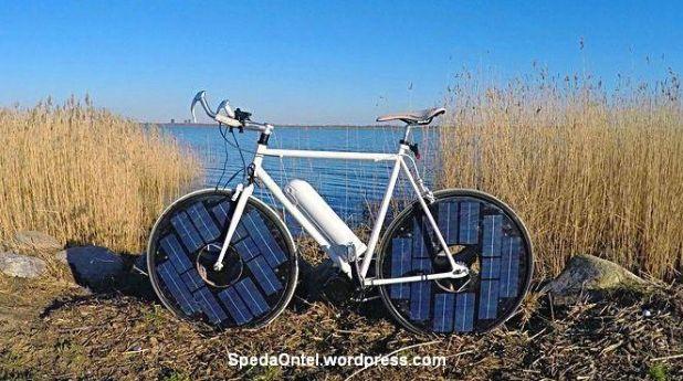 sepeda-solar-panel