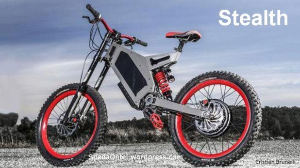 Stealth, Sepeda Listrik Bertenaga Kuat-2