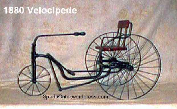 1880 velocipede