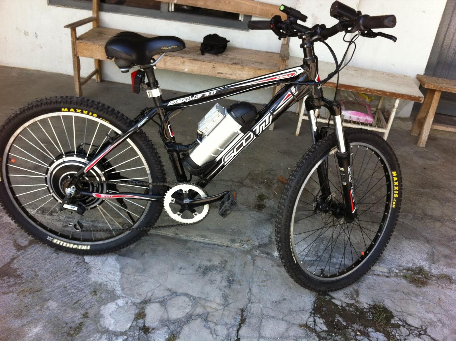 Cara Rakit Sendiri Sepeda Listrik Sepeda Onthel • Old